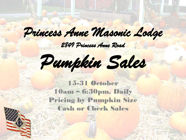 PA 25 Pumkin Sales Flyer